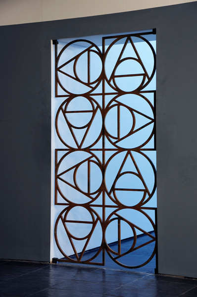 Gate, 2010, Steel, 200 x 100 cm approx, Edition of 2