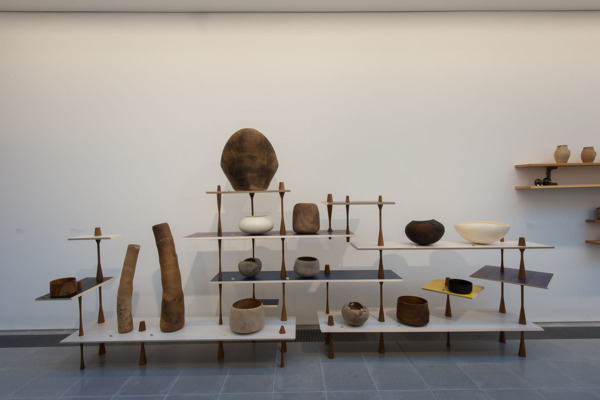 Installation view 'Martino Gamper: Design is a State of Mind', Serpentine Sackler Gallery, London, 2014
