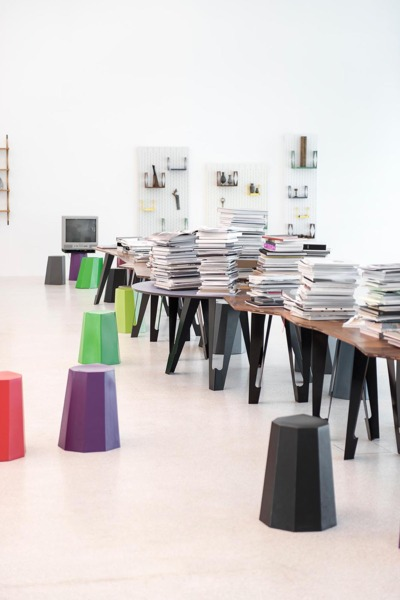Installation view 'Martino Gamper: design is a state of mind', Museion, Bolzano, 2015