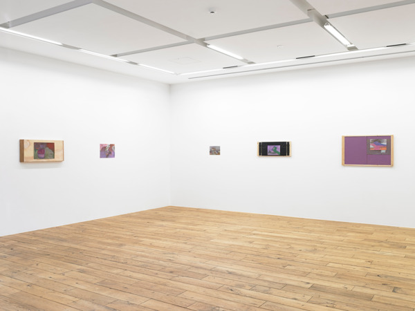 Installation view 'The gallery is beside a church, apartments and a small park with fountain', Rat Hole Gallery, Tokyo, 2015