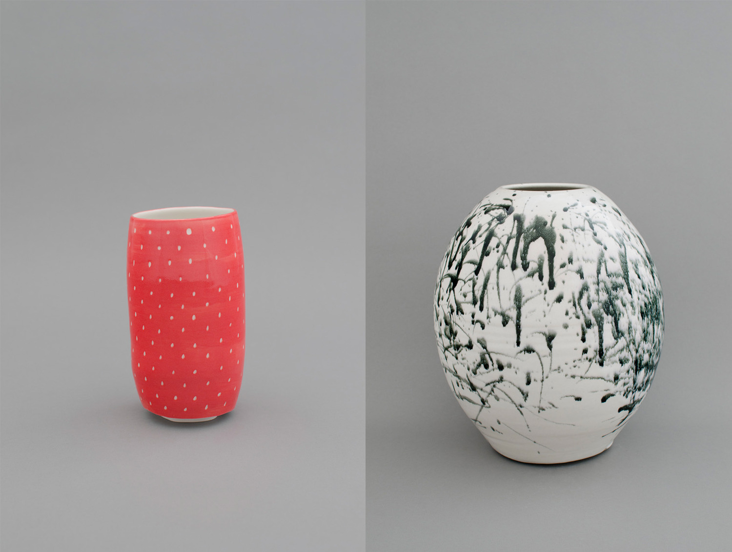 (strawberry 2), 2012  and (ink 7), 2012