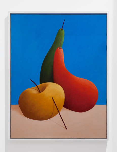 Still life, 2014, Pastel on canvas, 121 x 94 x 7 cm