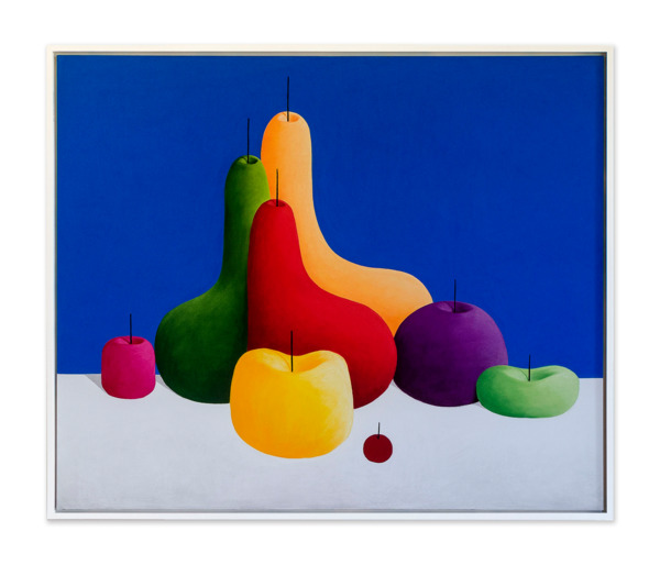 Still Life, 2015, Pastel on canvas, 155.5 x 185.5 x 6.7 cm