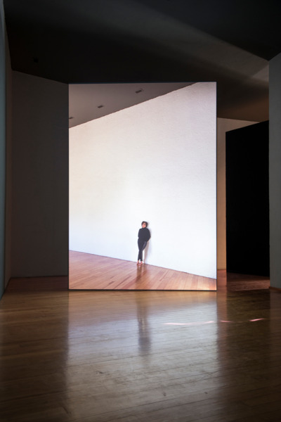 El Eco, 2014, 35 mm film transferred to HD, Duration: 11 min. 18 sec. (loop), Projected dimensions variable, Installation view, Museo Experimental El Eco, San Rafael