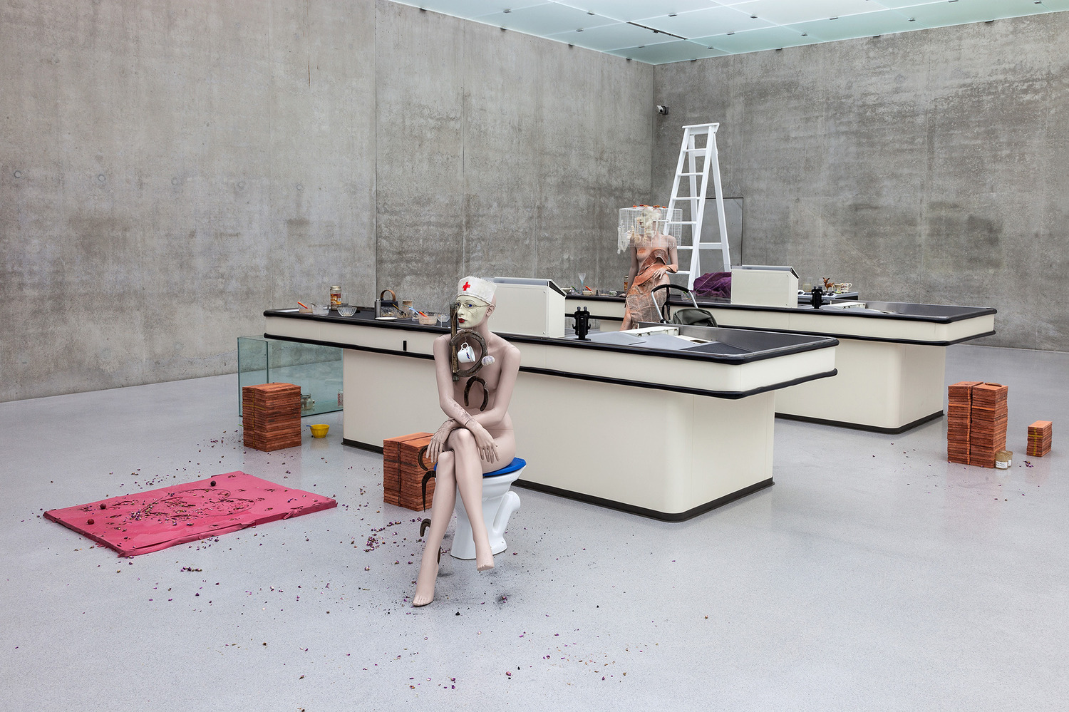 I Give You All My Money, 2008, Mixed media, Dimensions variable, Installation view 'Love is Colder than Capital: An Exhibition about the value of feelings', Kunsthaus Bregenz, Bregenz, 2013