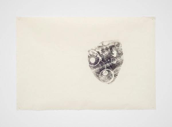 Mariana Castillo Deball, Zoomorph G Imprint 12, 2013, Monoprint on Hosokawa paper 39g, 61 x 91 cm