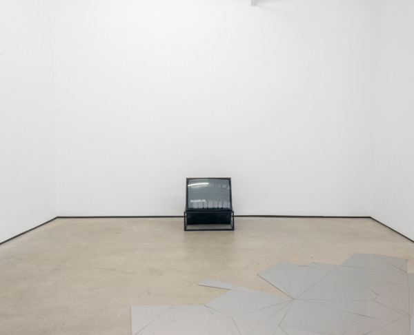 Paulo Nazareth, Aprender a rezar em guarani e Kaiowa [Learn to pray Guarani e Kaiowa for the world doesn't to finish], 2013, video conduct, Duration: 28 mins, looping, Installation view 'Kiti Ka'aeté', The Modern Institute, Osborne Street, 2015