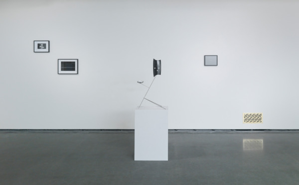 Installation view, 'Martin Boyce: When Now is Night', RISD Museum, Providence, 2015