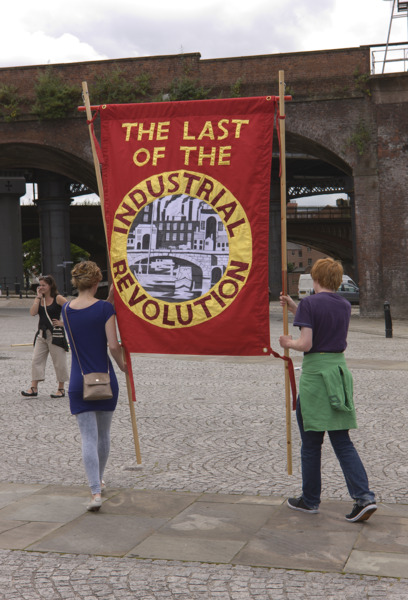 Procession, 2009, Manchester - Jeremy Deller - The Modern