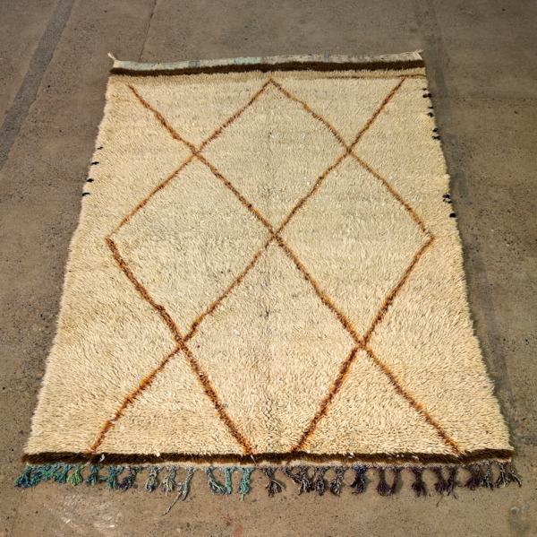 Moroccan Rug, 2013, Wool, 243 x 160 cm