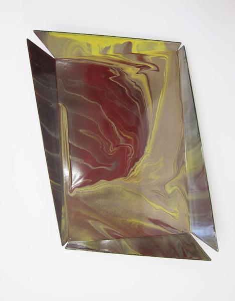 Tutti - Frutti Tray #04, 2013, Steel, enamel, 5 x 55 x 37 cm