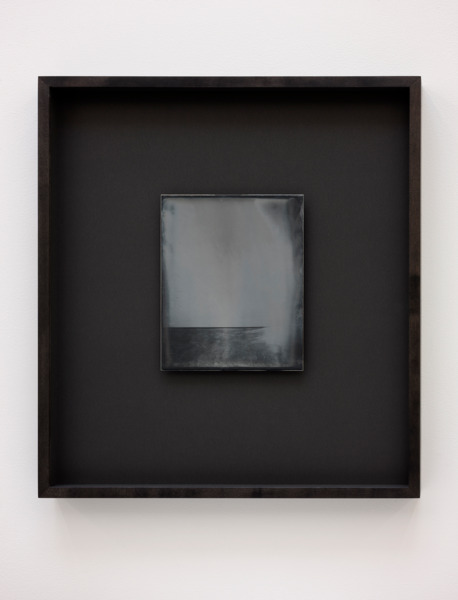 Recursive Plates (Richard Wright, No Title, 2014), 2015, Daguerreotype on silver-plated copper (Unique), 24 x 19 cm image size, 55.5 x 49 cm framed