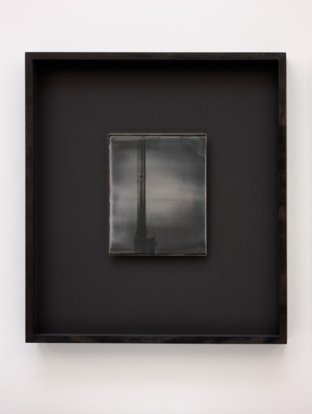 Recursive Plates (Martino Gamper, Firelit, 2013), 2015, Daguerreotype on silver-plated copper (Unique), 24 x 19 cm image size, 55.5 x 49 cm framed