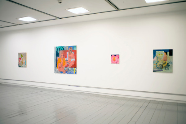 Installation view 'We Have No Bananas', Intermedia Gallery, CCA, Glasgow, 2012