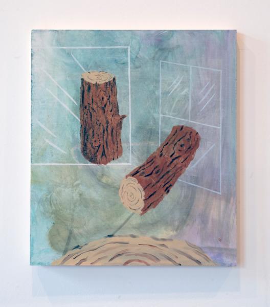 Kinetic Weapons, 2013, Oil on board, 61 x 53.5 cm
