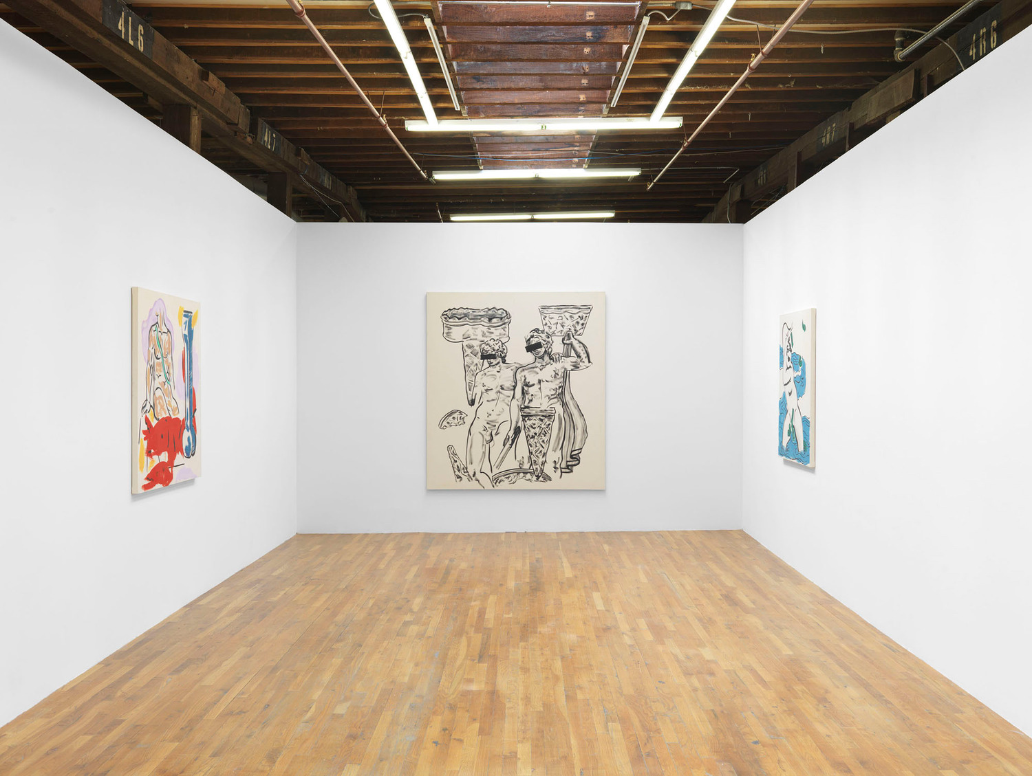 Installation view 'The Effects of Sugar', Still House Group, New York, 2014