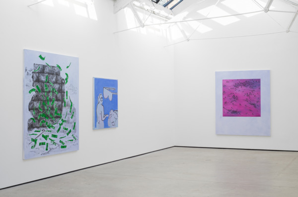 Installation view, The Modern Institute, Osborne Street, Glasgow, 2016