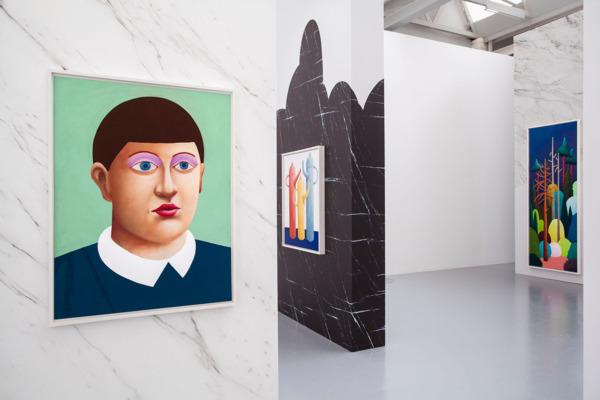 Installation view 'Cimaise', CAN: Centre d'art Neuchâtel, Neuchâtel, 2016
