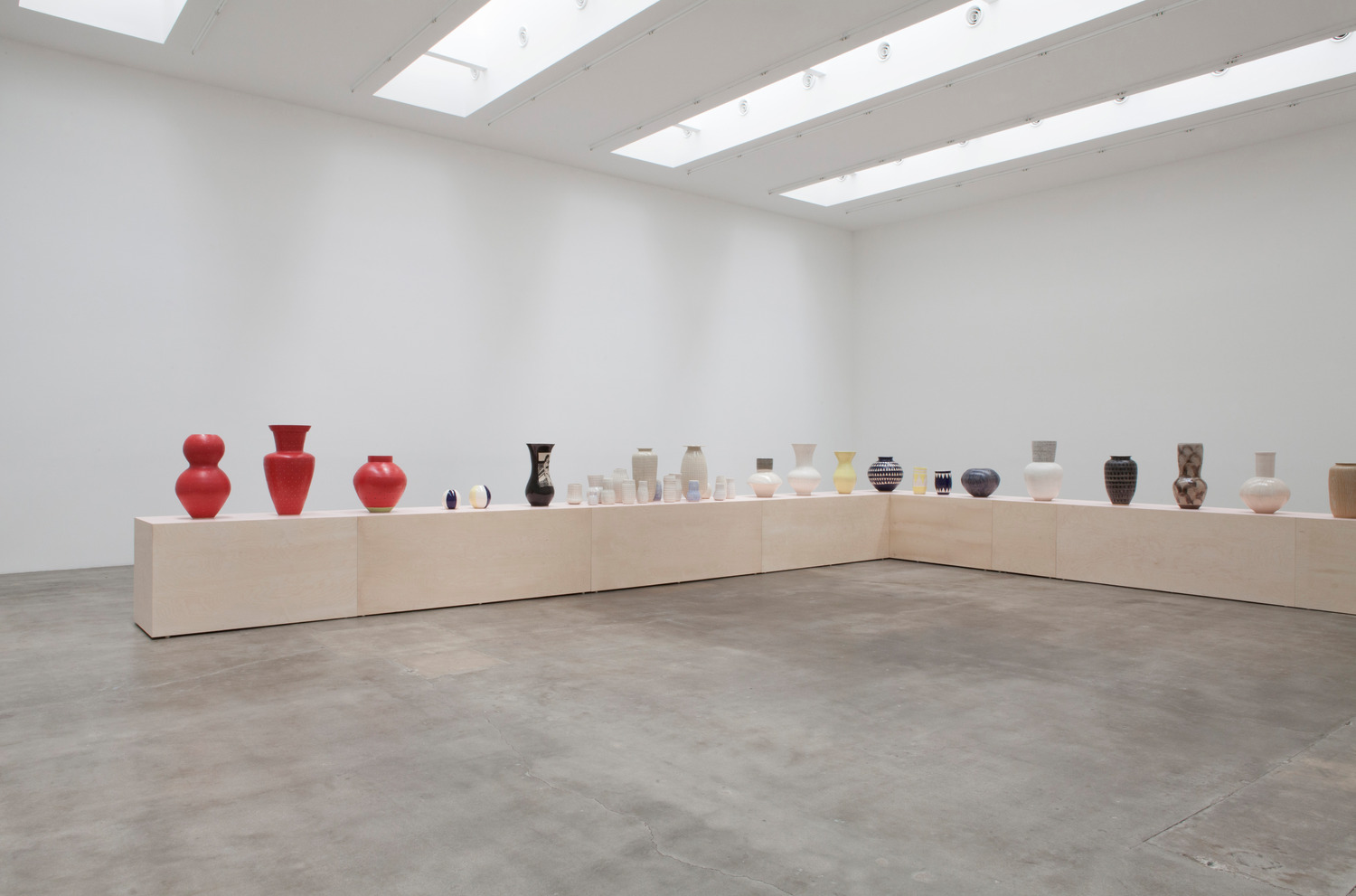 Installation View, Blum & Poe, Los Angeles, 2016