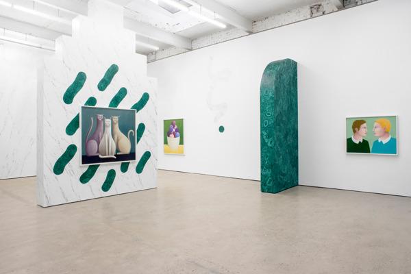 Installation view 'Three Cats', The Modern Institute, Aird's Lane, Glasgow, 2016