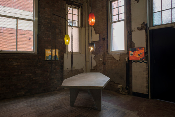 Installation view Walter Price, The Modern Institute, Aird's Lane Brick Space, Glasgow, 2016