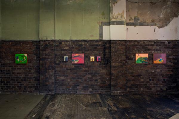 Installation view Walter Price, The Modern Institute, Aird's Lane Brick Space, Glasgow, 2016