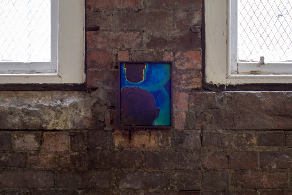 Pine Knee Awl, 2016, Acrylic on canvas, 25.5 x 20.5 cm, 10 x 8 in, Installation view Walter Price, The Modern Institute, Aird's Lane Brick Space, Glasgow, 2016
