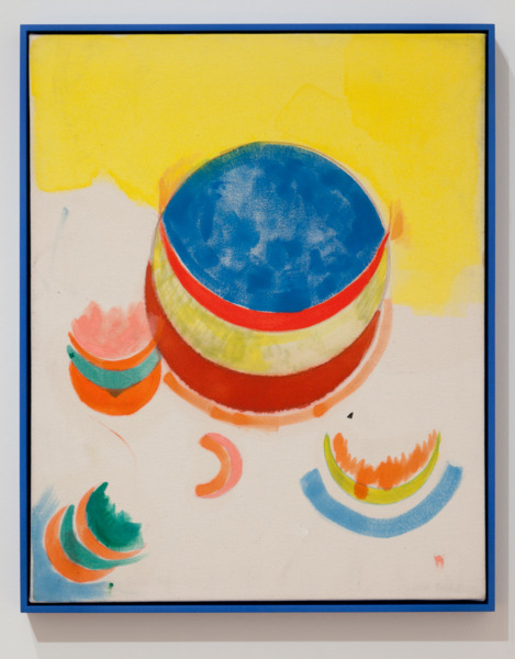 Danny Champion, 2011, Oil, acrylic and coloured pencil on canvas with artist frame, 53.3 × 43.2 cm, 21 × 17 in