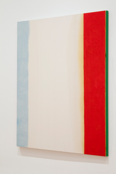 You're Gonna Take a Walk in the Rain and You're Gonna Get Wet, 2011 (Side View), Oil, acrylic and pencil on canvas with artist frame, 183 × 152.4 cm, 72 × 60 in