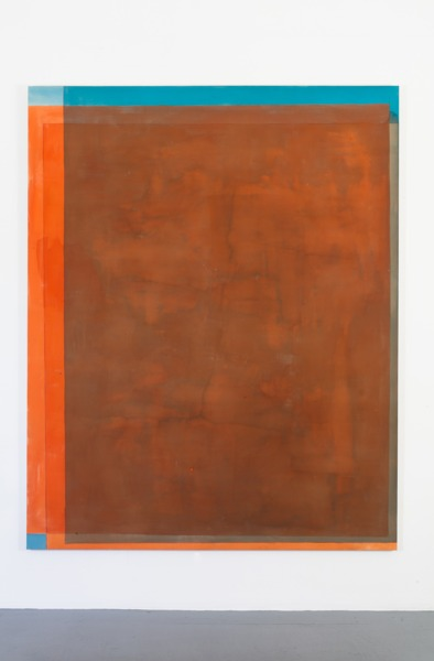 Fifth Thirds, 2012, Acrylic on canvas, 254 x 203.2 cm, 100 x 80 in