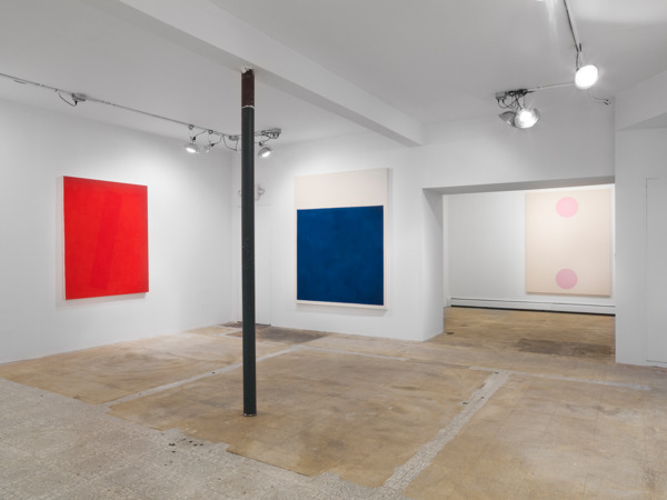 Installation view Matt Connors 'Zonder', Karma, Amagansett, New York, 2014