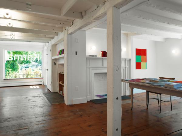 Installation view Matt Connors 'Zonder', Karma, Amagansett, New York, 2014