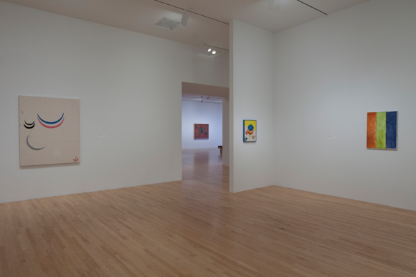 Installation view 'Concentrations 54: Fergus Feehily and Matt Connors', Dallas Museum of Art, Dallas, 2011