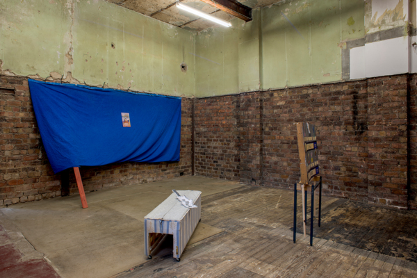 Installation view 'Wyndham School of Dancing', The Modern Institute, Aird's Lane Bricks Space, Glasgow, 2016