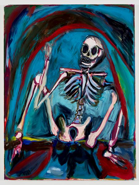 Josh Smith, Untitled, 2016, Oil on canvas, 121.9 x 91.4 cm, 48 x 36 in