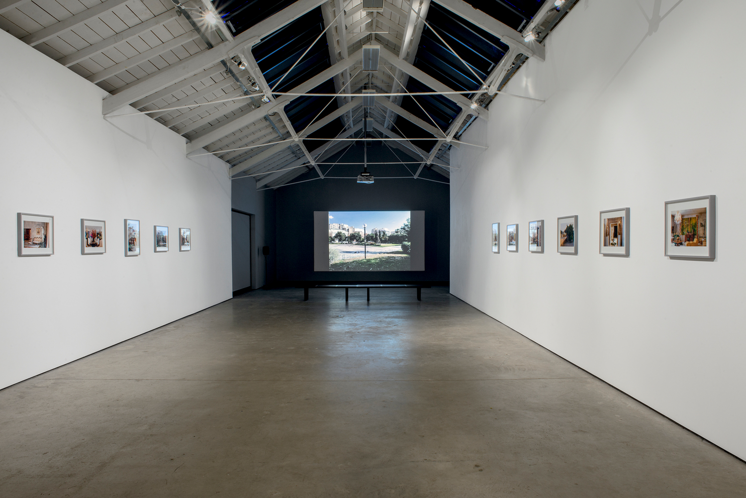 Installation view Modern Institute, Osborne Street, Glasgow, 2017