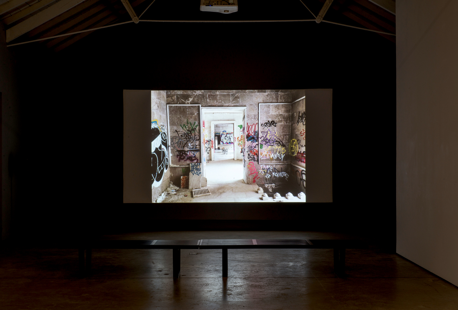 Installation view, Fall into Ruin, The Modern Institute, Osborne Street, Glasgow, 2017