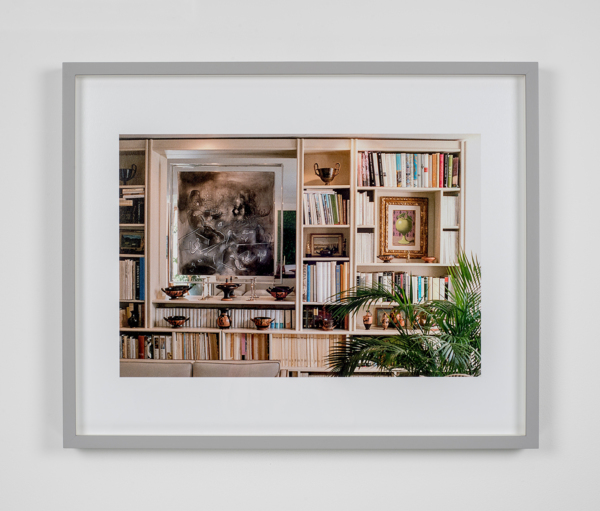 William E. Jones, Villa Iolas (Matta, René Magritte, Greek Vases), 1982/2017,, Hand coated ink jet print,, 42.6 x 53 x 3.7 cm, 16.8 x 20.9 x 1.5 in, Edition of 6