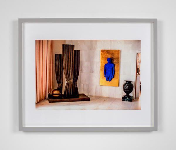 William E. Jones, Villa Iolas (René Magritte, Yves Klein, Man Ray), 1982/2017,, Hand coated ink jet print,, 42.6 x 53 x 3.7 cm, 16.8 x 20.9 x 1.5 in, Edition of 6