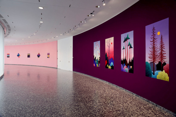Nicolas Party, Installation view 'sunrise, sunset', Hirshhorn Museum and Sculpture Garden, Washington DC, 2017