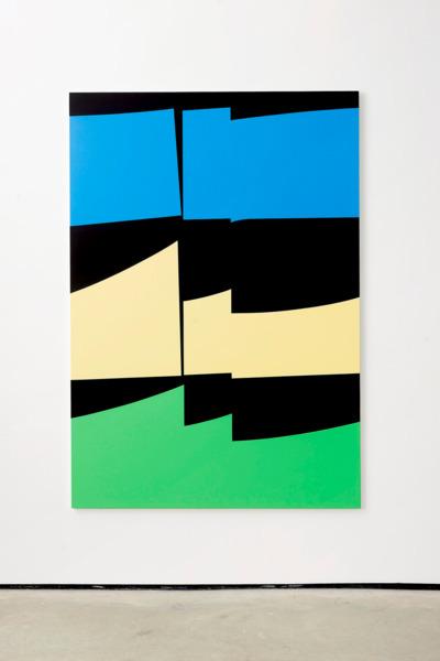 Alex Dordoy, Dune, 2016, Acrylic on canvas, 200 x 140 x 2.5 cm, 78.7 x 55.1 x 1 in