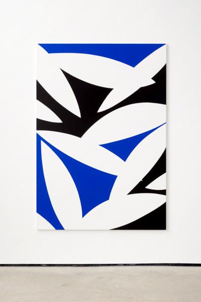 Alex Dordoy, Floating Blossom, 2017, Acrylic on canvas, 200 x 140 x 2.5 cm, 78.7 x 55.1 x 1 in