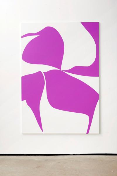 Alex Dordoy, Rose Prick, 2017, Acrylic on canvas, 200 x 140 x 2.5 cm, 78.7 x 55.1 x 1 in
