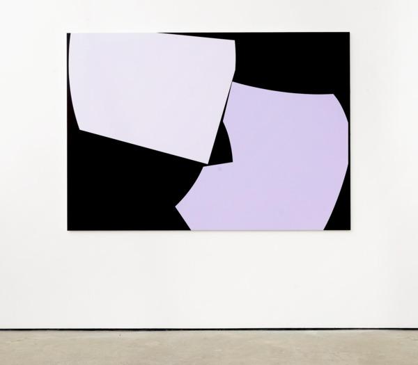 Alex Dordoy, Lovers, 2017, Acrylic on canvas, 140 x 200 x 2.5 cm, 55.1 x 78.7 x 1 in