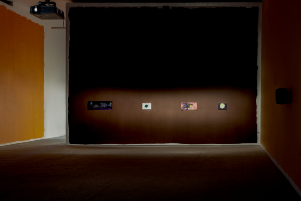 Sue Tompkins, 'Country Grammar' - a film by Luke Fowler, installation view, The Modern Institute, Aird's Lane, 2017