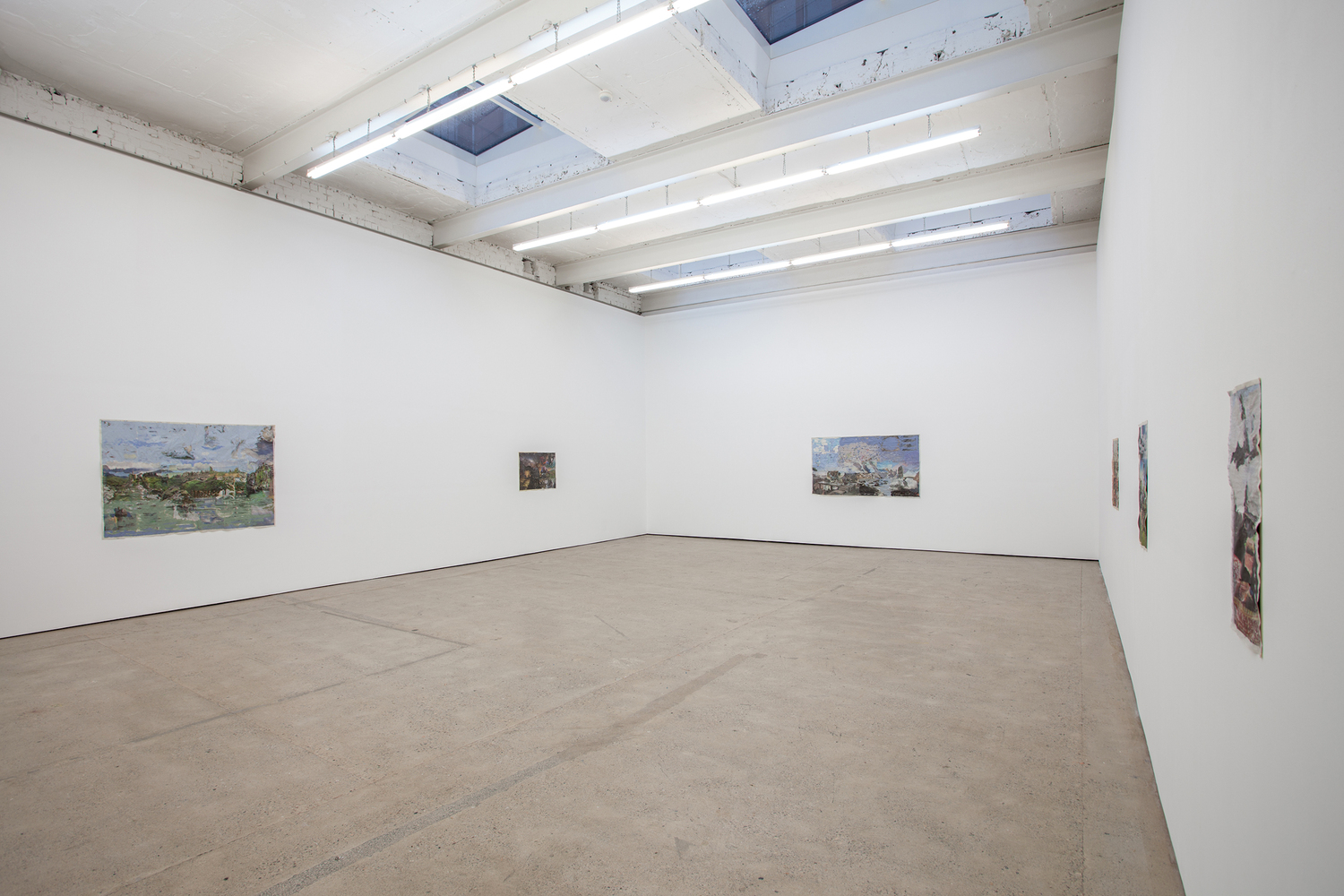 Tony Swain 'Works or Everyone' Installation view, The Modern Institute Aird's Lane, Glasgow, 2017