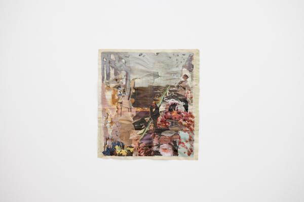 Tony Swain, Earths Myths Abound, 2017, Acrylic on pieced newspaper, 65.5 x 60.5 cm, 25.8 x 23.8 in