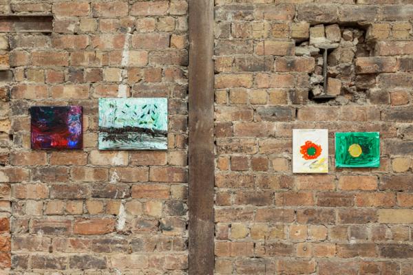 Sue Tompkins, 'Country Grammar', Installation view, The Modern Institute, Aird's Lane Bricks Space, Glasgow, 2017