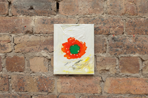 Sue Tompkins, Untitled (Altogethers), 2017, Acrylic paint, enamel, 25.5 x 20.5 x 1.7 cm, 10 x 8.1 x .7 in