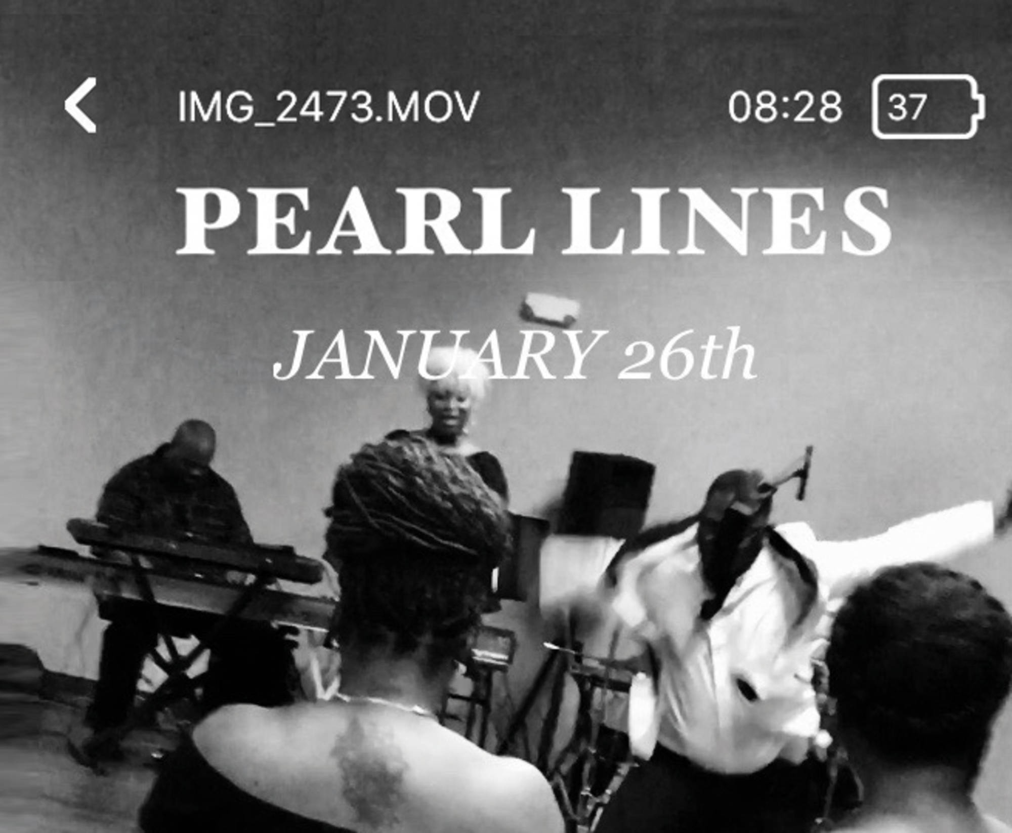 Walter Price  'Pearl Lines'